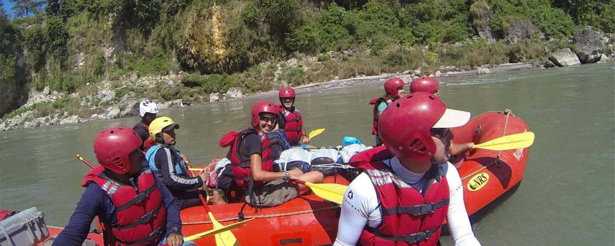 Nepál Rafting Lower Seti TravelNative